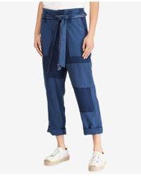 Polo Ralph Lauren - Patchwork Straight-leg Pants - Lyst