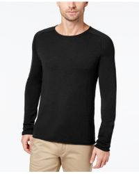 Daniel Hechter | Men's Raw Edge Merino Wool Jumper | Lyst