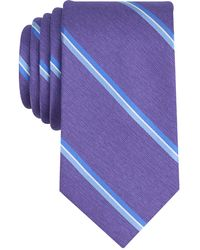 Perry Ellis | Men's Jeffers Stripe Silk Tie | Lyst