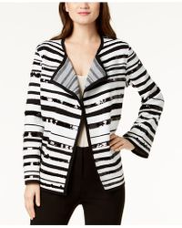 Alfani - Sequin-embellished Sweater Jacket, Created For Macy's - Lyst