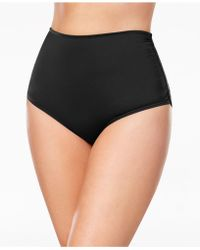 Anne Cole - Plus Size High-waist Bikini Bottoms - Lyst