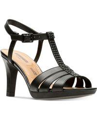 Clarks - Adriel Tevis Dress Sandals - Lyst