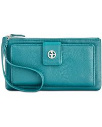 Giani Bernini - Softy Grab & Go Leather Wristlet, Created For Macy's - Lyst