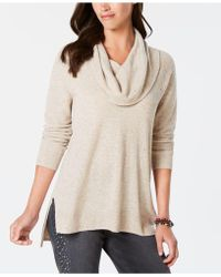 Style & Co. - Petite Cowl-neck Jumper, Created For Macy's - Lyst