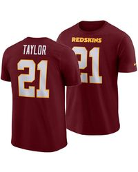 629c57014 Nike - Sean Taylor Washington Redskins Pride Name And Number Wordmark 3.0  Retired Player T-