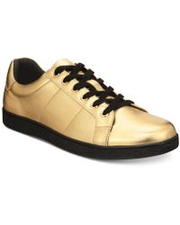 INC International Concepts - Orion Metallic Low-top Sneakers, Created For Macy's - Lyst