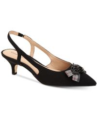 Charter Club - Lollee Bow Slingback Pumps, Created For Macy's - Lyst