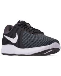 0fea574dafe0e Nike - Revolution 4 Wide Width Running Sneakers From Finish Line - Lyst