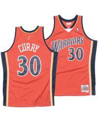 3299f81b924 Mitchell   Ness - Stephen Curry Golden State Warriors Hardwood Classic  Swingman Jersey - Lyst