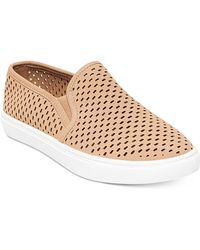 Steve Madden - Elouise Perforated Slide-on Trainers - Lyst