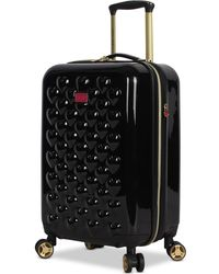 """Betsey Johnson - Heart To Heart 20"""" Hardside Expandable Carry-on Spinner Suitcase - Lyst"""