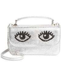 Betsey Johnson - Eyes Small Crossbody Bag - Lyst