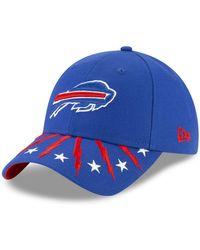 on sale 0dd11 30caa KTZ - Draft Buffalo Bills 9twenty Strapback Cap - Lyst