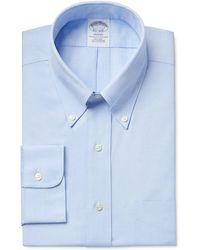 Brooks Brothers - Classic Fit Non-iron Pinpoint Solid Dress Shirt - Lyst