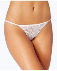 DKNY - Modern Lace Sheer String Bikini Dk5015 - Lyst