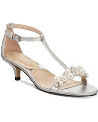 Adrienne Vittadini - Kalina Dress Sandals - Lyst