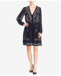 Catherine Malandrino | Gretl Embellished Peasant Dress | Lyst