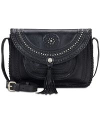Patricia Nash | Distressed Vintage Beaumont Flap Crossbody | Lyst