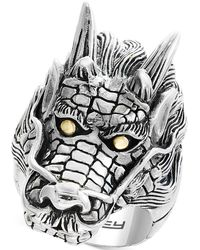 Effy Collection - Dragon Ring In Sterling Silver & 18k Gold - Lyst