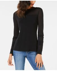 INC International Concepts - I.n.c. Long-sleeve Illusion-contrast T-shirt, Created For Macy's - Lyst