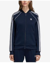 83c86c51847 adidas - Originals Adicolor Superstar Three-stripe Track Jacket - Lyst