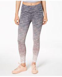 Calvin Klein - Performance Ombré Space-dyed High-waist Leggings - Lyst
