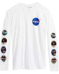 Bioworld - Long Sleeve Graphic Nasa T-shirt - Lyst