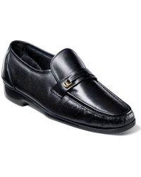 Florsheim | Shoes, Riva Moc Toe Loafers | Lyst