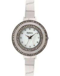 Style & Co. - Women's Silver-tone Bracelet Watch 35mm Sy006s - Lyst