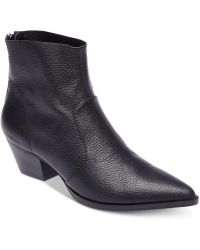 Steve Madden - Cafe Pointed-toe Booties - Lyst
