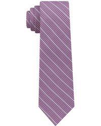 DKNY - Pillar Stripe Slim Tie - Lyst