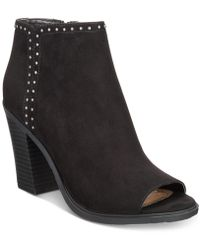 Esprit - Natalee Memory Foam Block-heel Ankle Booties - Lyst