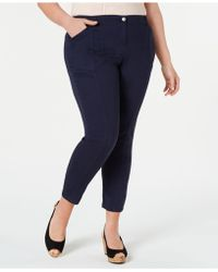 Style & Co. - Plus Size Bandit Skinny Trousers, Created For Macy's - Lyst