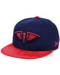 competitive price 22f0e d2fb0 KTZ New Orleans Saints Original Fit 9fifty Snapback Cap in Blue for Men -  Lyst