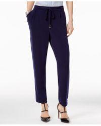 Olivia & Grace - Drawstring-waist Studio Pants - Lyst