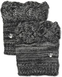 BEARPAW - Cable Knit Boot Toppers - Lyst