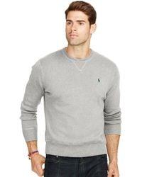 Polo Ralph Lauren | Cotton Crew-neck Sweatshirt | Lyst