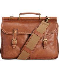Patricia Nash Men's Leather Dowel Briefcase
