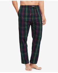 Polo Ralph Lauren - Plaid Woven Cotton Pajama Pants - Lyst