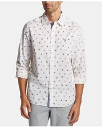 41ac750980 Lyst - Denim   Supply Ralph Lauren Flag and Eagle Chambray Shirt in ...