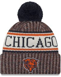 Lyst - Ktz Chicago Bears Nfl 2015 Training 39thirty Cap in Blue for Men 80fe8089a