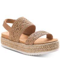 0bf8d10f5b84 Lyst - American Rag Kelli Braided Thong Sandals in White