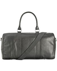 Cole Haan - Pebbled Leather Duffle Bag - Lyst