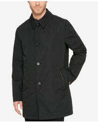 Cole Haan - Men's Car Coat With Removable Liner - Lyst