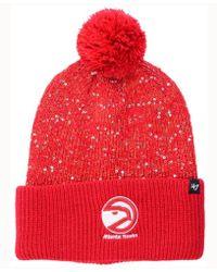 47 Brand - Women's Hardwood Classics Glint Knit Hat - Lyst