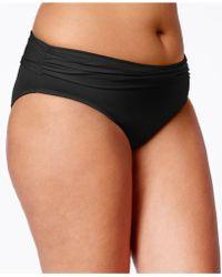 Bleu Rod Beattie - Plus Size Gilt Trip Bikini Bottom - Lyst