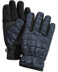 Timberland - Quilted Touchscreen Gloves - Lyst