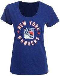 47 Brand - New York Rangers Club Script T-shirt - Lyst