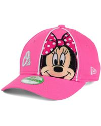 de3bd4da258 Vans. Disney X Checkerboard Mickey Womens Strapback Hat.  32. Tillys · KTZ  - Baltimore Orioles Face Front Minnie 9forty Cap - Lyst