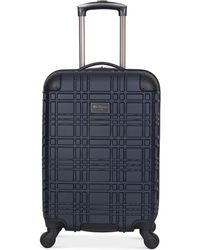 "Ben Sherman - 20"" Lightweight Hardside Carry-on Spinner Suitcase - Lyst"